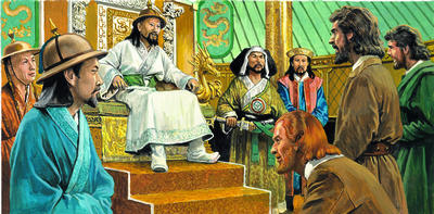 kublai khan and marco polo relationship with god