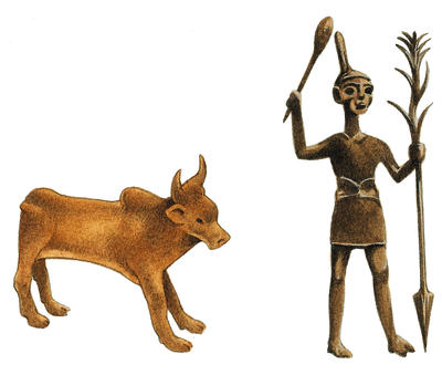 Which gods did the Canaanites worship?