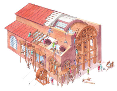What Were The New Roman Building Methods