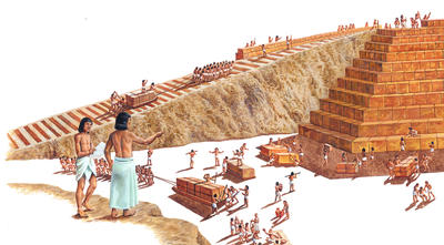 the building of the great pyramid and the facts about the great wonder Even today it remains the most massive building on earth it is the great pyramid of khufu, at giza each of the great the last wonder of.