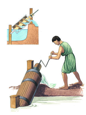 Archimedes Stock Photos & Archimedes Stock Images - Alamy  |Ancient Archimedes Screw
