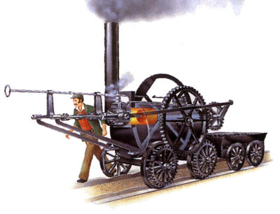 how to the invention of steam energy help britain